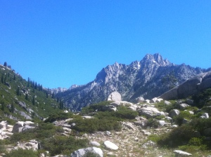 Trinity Alps, Northern California USA