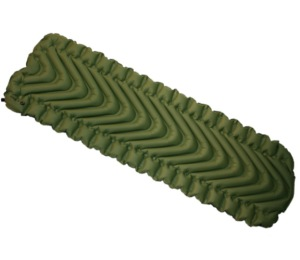 Klymit Static V sleeping pad - an economically priced air sleeping pad with a unique and comfortable  v-chamber design.