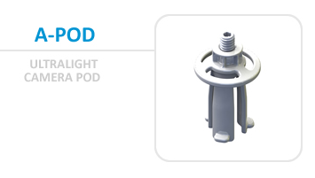 The Suluk46 A-Pod, a 6 gram camera pod!