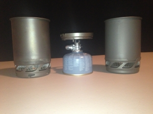 The Jetboil Sol Titanium and the Jetboil Sol Aluminium.