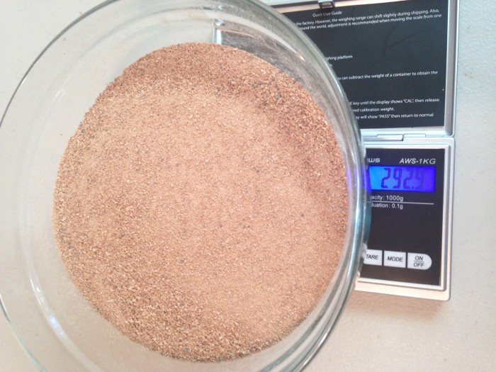I end up with 293 grams of powdered banana - ready to go into any smoothie - be it at home or on the trail.