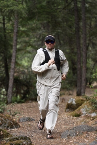 Fastpacking along the 400 mile 'Bigfoot trail' I have spent four years helping to develop. Photo by Brian Doyle