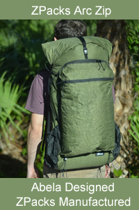 ZPacks Arc Zip