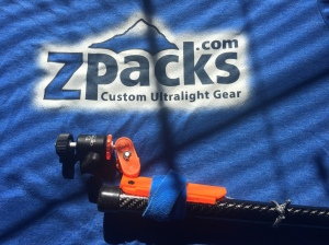 ZPacks Carbon Fiber Staff, Camera Mount