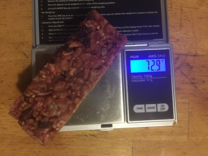 Greenbelly Meal Bar - Cranberry Almond (solid-scale) 72.9 grams