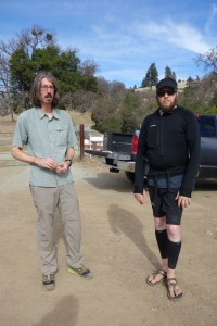 Myself and Jacob Dinardi, from HikeItLikeIt.Com after the 2014 GGG in Central California.