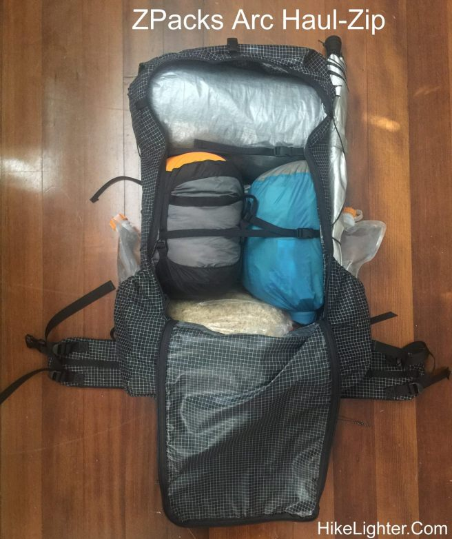 ZPacks Arc Haul Zip - First Trip