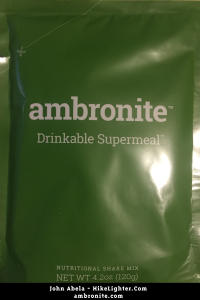 Ambronite - A Drinkable Supermeal