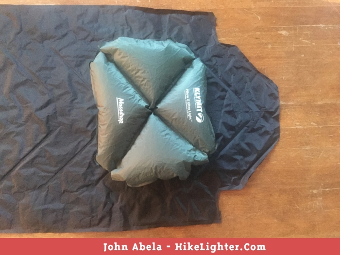 Resizing the Massdrop x Klymit Static V Ultralight Sleeping Pad