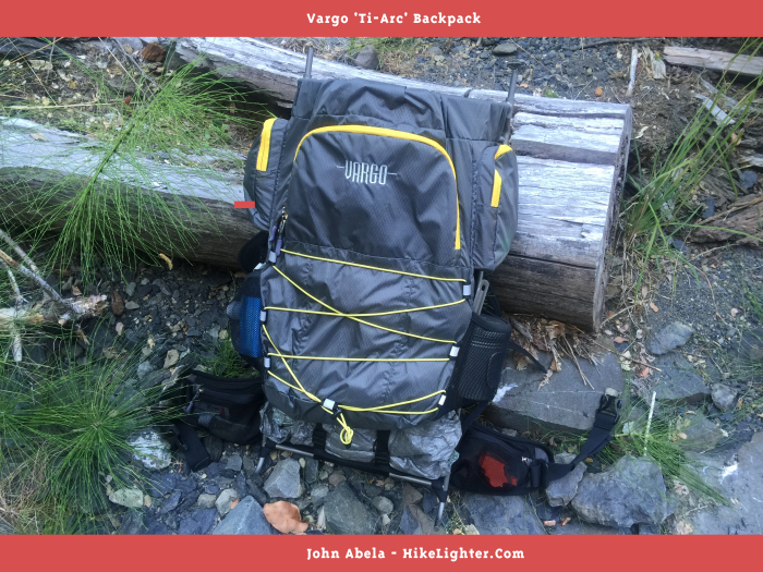 Vargo 'Ti-Arc' Backpack