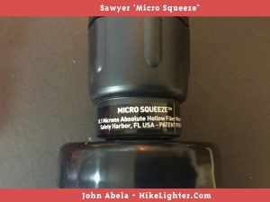 Sawyer 'Micro Squeeze'