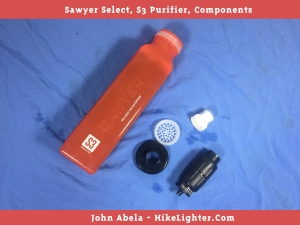 Sawyer Select, S3, Components