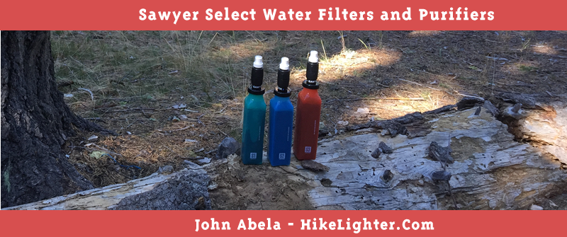 Sawyer Select Water Filters and Purifiers Branded