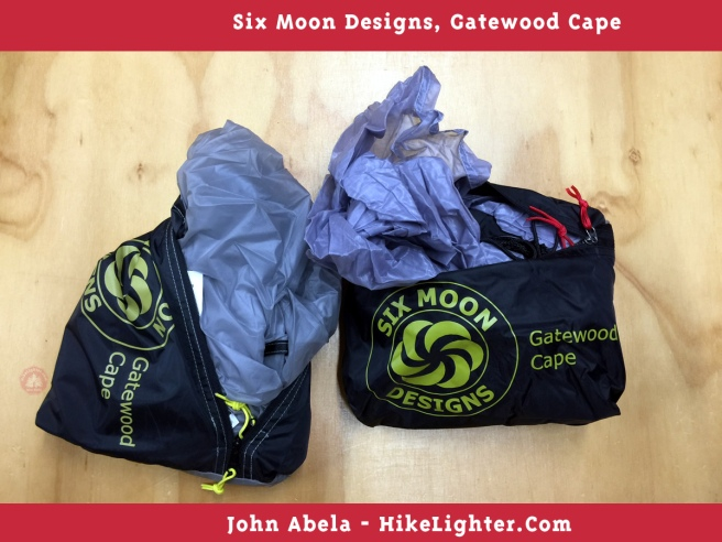 Six Moon Designs, Gatewood Cape, 2018, Previous vs New Color, Gray, 001
